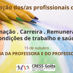 15 de outubro, Dia da Professora e do Professor